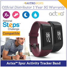 ⭐⭐ Actxa Spur ⭐⭐ COMPATIBLE WITH NATIONAL STEP CHALLENGE 3 ⭐⭐ Official Distributor 1 Year SG Warrant