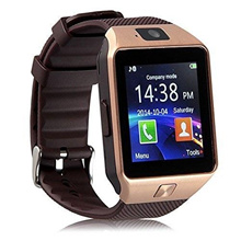 ★Smartwatch★Newest Model Authentic DZ09 Bluetooth Touchscreen SIM Card smart watch Phone With Spy Camera / For iPhone Android HTC Samsung LG Smart phones/ Good Value/Fast Shipping Wristwatch
