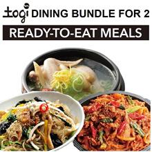 Apply 25% discount! Korean Dining Bundle for 2pax! Authentic Korean Food! SamGyeTang JapChae