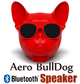 Jarre AeroBull Bluetooth Speaker 2018 The Year of Dog Bulldog speaker Smart Speaker TF Mp3