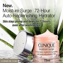 Clinique Moisture Surge 72-Hour Auto-Replenishing Hydrator Gel-Cream - 75ml