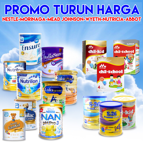 [ BIG PROMO ] ALL KIDS NEEDS MILK FORMULA AND DIAPERS Deals for only Rp265.500 instead of Rp265.500