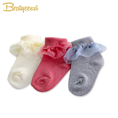 Socks & Tights Loyal Newborn Baby Booties Socks 3pair Set For Baby Shower Gift A Great Variety Of Models Girls' Clothing (newborn-5t)