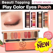 2018 NEW ARRIVAL★Etude House★Play Color Eyes Peach Farm(Eye Shadow Palette)Cherry Blossom/Wine Party