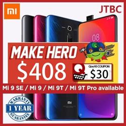 [LOCAL] Mi 9 series GroupBuy |  Mi 9T PRO/Mi 9SE/MI 9T/ Mi 9 /  64GB/128GB  / Local 1 Year Singapore