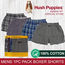 HUSH PUPPIES 1PC MENS WOVEN BOXER SHORTS - HMX432499