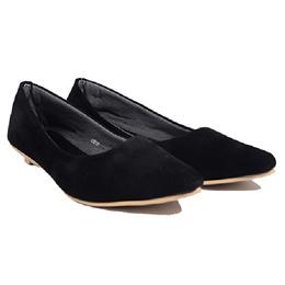 Dr.Kevin Women Flat Shoes 43212 Black