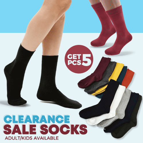 [ GET 5 PCS ] GRAB IT FAST SOCKS Deals for only Rp9.900 instead of Rp9.900