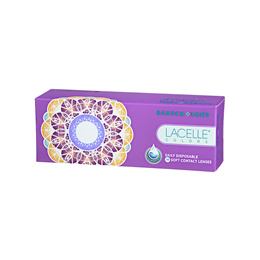 Bausch Lomb LACELLE COLORS daily disposable (30pcs/box) PWR -5.25 ~ -8.00