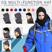 CS Game Accessories Thermal Neck Warmers Fleece Balaclavas CS Hat Headgear Winter Skiing Ear Windpro