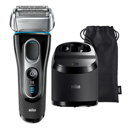 Braun Series 5 5197cc Mens Electric Foil Shaver Wet  Dry with Clean  Charge