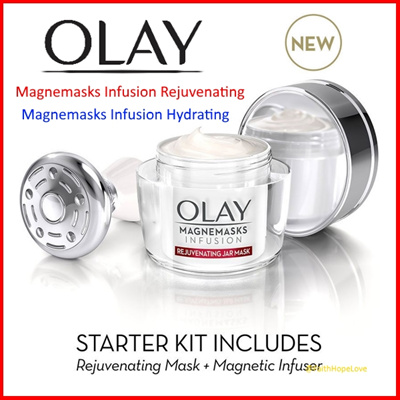 【OLAY】★ Magnemasks Infusion Rejuvenating / Hydrating Starter Kit ★