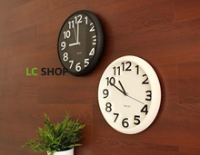 [ Wholesale Price ]***36 Designs***[ 4 Qty Free Shipping ] Modern Candy Colors Digital Wall Clock