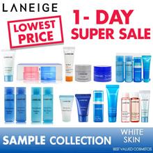 LOWEST PRICE [Laneige] water bank line Sample kit/Water Sleeping Mask/Essence/MEDIAN.innisfree