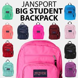 [JANSPORT] Original BIG STUDENT Best color backpack 15type School bag