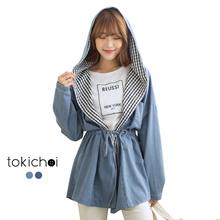 TOKICHOI - Hooded Ribbon Jacket-180295