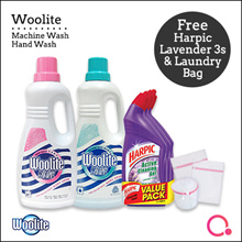 [RB]【FREE GIFTS】Woolite Fabric Hand Wash /Machine Wash 1L