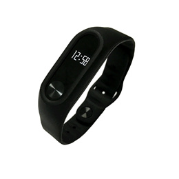 Inside Clasp Replacement Silicone Wrist Strap for XIAOMI Miband2