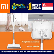 💖SG Warranty!💖CHEAPEST!★Latest★Xiaomi Mijia Handheld Electric Mop Floor Vibration Scrubber★ SDWK