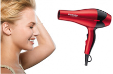 2000W Wind Colour Professional Hair Dryer Red