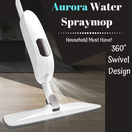 AURORA SPRAY MOP MICROFIBER CLEANING FLOOR CLEANING 360