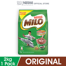 NESTLE MILO ACTIV-GO CHOCOLATE MALT POWDER Softpack 2kg