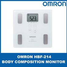 OMRON HBF-214 Omron Body Fat Scanning Digital Scale