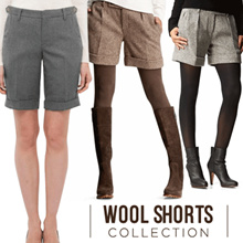 Branded Short Pants  / Material Wool / 3 Style / Premium Quality