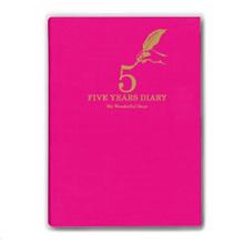Artificial 5th year consecutive diary pink DP 5-140 PK