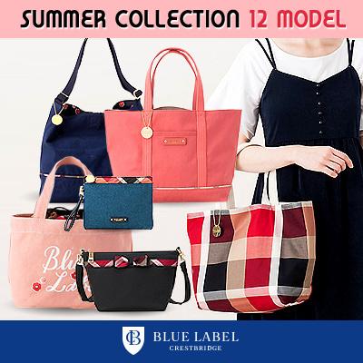 Bluelabel Crestbridge 2018 Summer New 12 Styles Tote Bag Shoulder