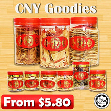★New Arrival★ Chinese New Year Goodies / Cookies / Prawn Roll / Pineapple Tarts / Seaweed / Snack