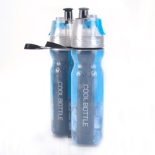 Latest Sports MIST AND SIP SPRAY Cold Water Bottle -  Biking hiking**wanted**most fast shipping