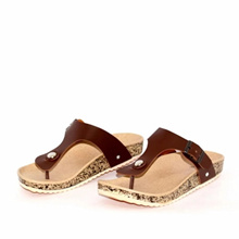 Marlee Footbed Sandal Wanita IB-05_Brown