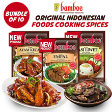 Bundle of 10__Bamboe Export__Original Indonesian Foods Cooking Spices