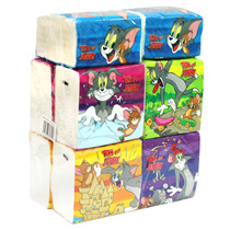 Onwards Tom  Jerry Mini Travel Pack (150s x 10Pcs)