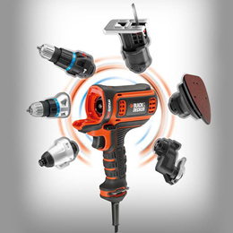 Black and Decker EAC800 multi tools code-body (body only) Electric drill / electric / Weight: 1.29kg New