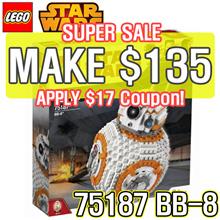 [MAKE $135] LEGO 75187 Star Wars BB-8 large scale model