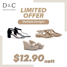 $12.90 DnC Women Shoes | Sandals | Wedges | Flip-Flops