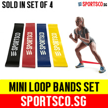 ⏰ Mini Loop Bands Set ☘ Sold in a SET of 4 Bands ☘ SG Seller ☘