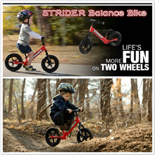 HOT SELLING STRIDER RUNNING BIKE** Strider 12 Classic Kids Balance Bike Bicycle Pushbike genuine