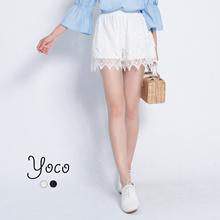 YOCO - Crotchet Lace Shorts-171069