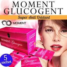 [SACHET] GLUCOLA - MOMENT Glucogen Glutathione (GSH) - TERAGEN - SLIMMER ORIGINAL 1000% DIJAMIN !!