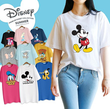 [RETNO X HOWRU] 💙Disney Authentic💙 Made in Korea Premium T-shirt + Long T-shirt 42types
