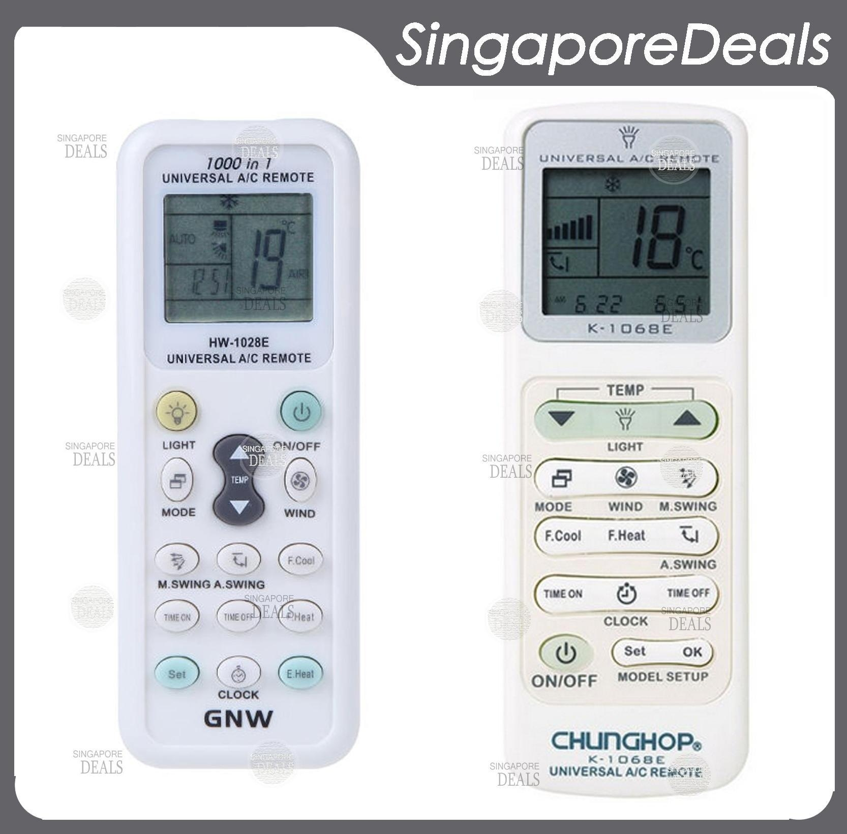 Qoo10 clearance sale universal aircon remote air con remote show all item images biocorpaavc Choice Image