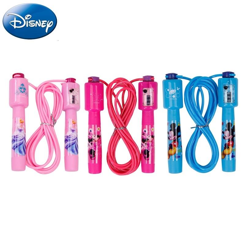 【Disney官方授權】卡通跳繩 兒童運動跳繩 健身計數跳繩 學校教育用品