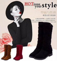 Women boots autumn/winter boots/cotton winter boots A19 WOMEN SHOES women boots/woman boots