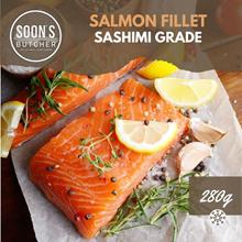 Norwegian Sashimi Grade Salmon Fillet 💯 (~300g)