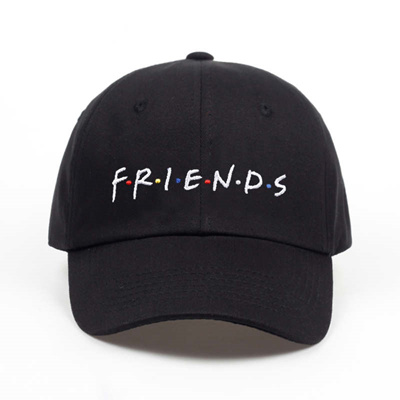 new friends baseball caps curved chapeau visor dad hat trending rare casquette  bone gorras fashion 4cc7c785ce4