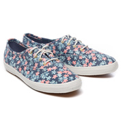 a6cecf6781f335  KEDS  CHAMPION FLORAL (WF57983) Indigo Multi (NV) Sneakers
