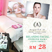 Up to 2 hours Relaxing Facial with Eye Mask